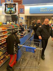 Walmart Dartmouth Ma Families Holidays Brightened By Shop With A Cop Wareham