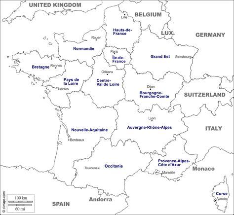 Carte De Region Et Departement Vierge by Carte Departement Vierge