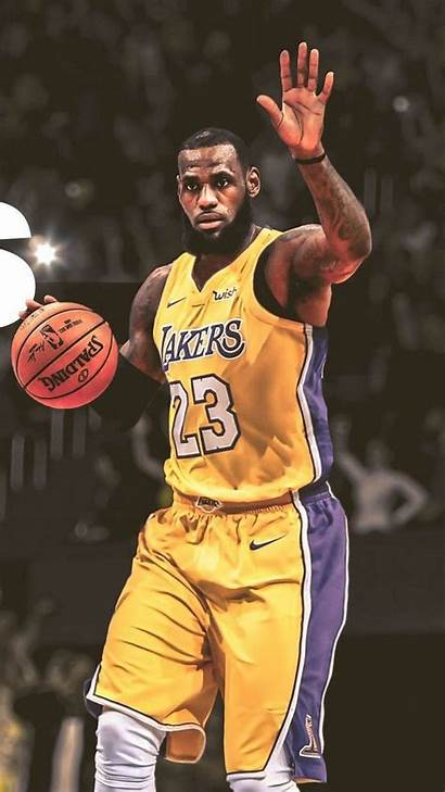 Lebron Lakers James Iphone Wallpapers Mobile Phone