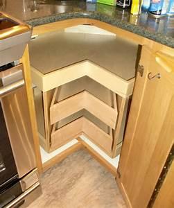 Kitchen, Corner, Cabinets, And, Storage
