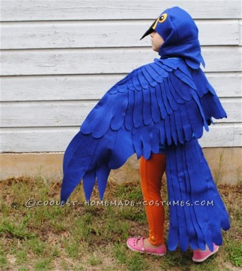 Coolest Blue Macaw Parrot Costume