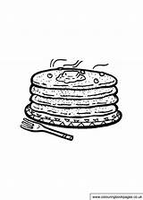 Pancake Colouring Printable Tuesday Activities Shrove Games Colouringbookpages sketch template