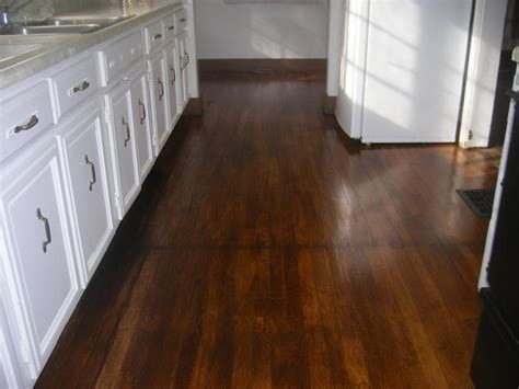 Refinishing Original Hardwood Floors Kitchen HARDWOODS