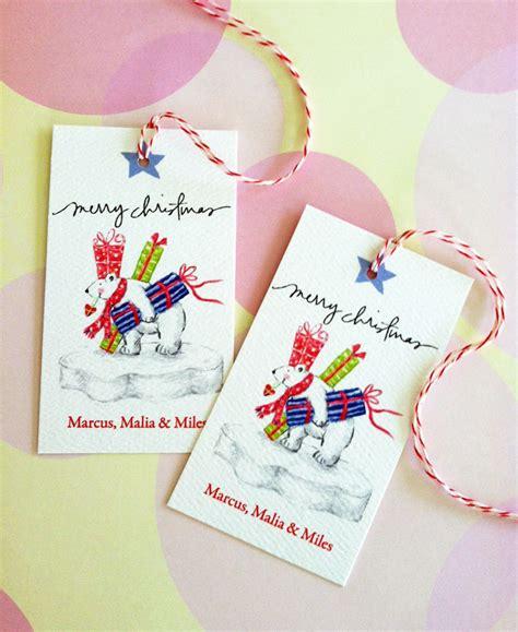 personalized christmas gift tags custom christmas tags