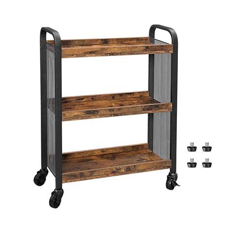 daintree serving cart slim kitchen cart  narrow spaces