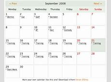 Calendar for WordPress BloggingPro