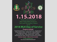 2018 Martin Luther King Jr Day of Service aka