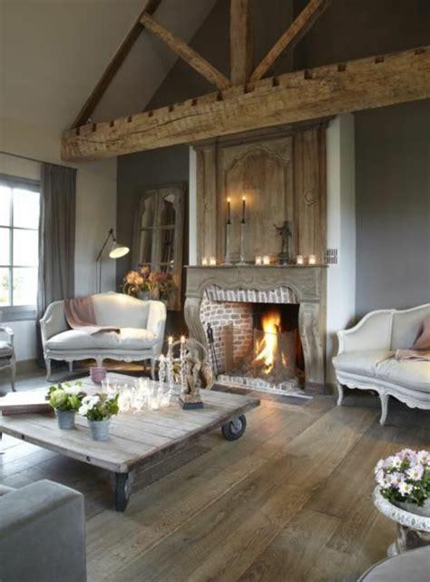 cuisine ouverte sur le salon la poutre en bois dans 50 photos magnifiques
