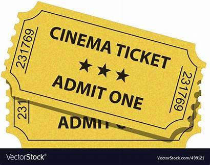Ticket Cinema Vector Royalty Vectorstock