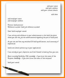 8 an example of a cover letter letter adress for Sample cover letter for a job that is not advertised