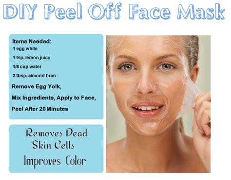 Full face peel off mask