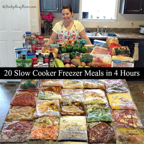 new and exciting dinner recipes make head freezer meals