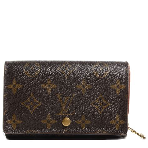 louis vuitton monogram porte monnaie tresor wallet 72041