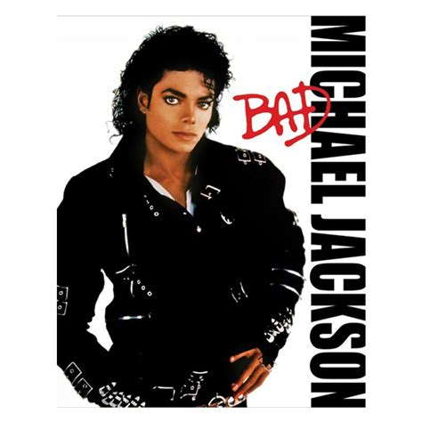 Bad Image From The Record Crate Michael Jackson Quot Bad Quot 1987