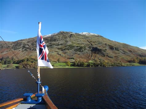 Boat Us To England by Ullwater 14k England Lake District 9 Miles Global