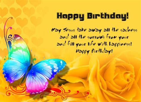 Send blessings from you business with religious birthday cards that incllude a bible verse. Blessed happy birthday wishes