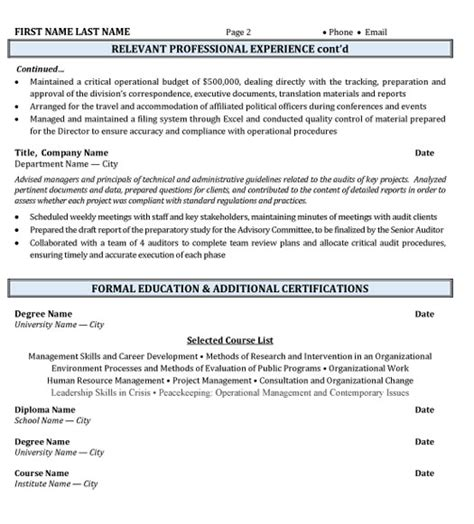 Government Relations Resume by How To Write A Professional Resume Summary Workbloom