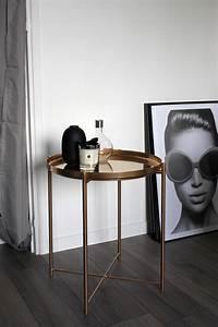 Table Basse Cuivre Rose : ikea hack une table basse version rose gold beautyoverbros ~ Melissatoandfro.com Idées de Décoration