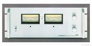 Pioneer Spec-2 - Manual - Stereo Power Amplifier
