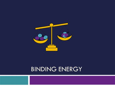 binding energy by hanmphillips teaching resources tes