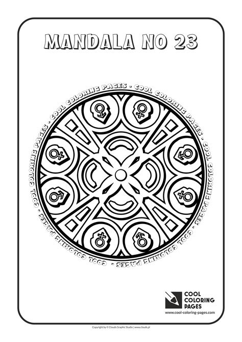 cool coloring pages mandalas cool coloring pages