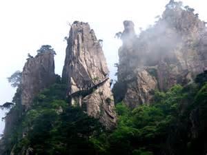 Huangshan Mountain Range