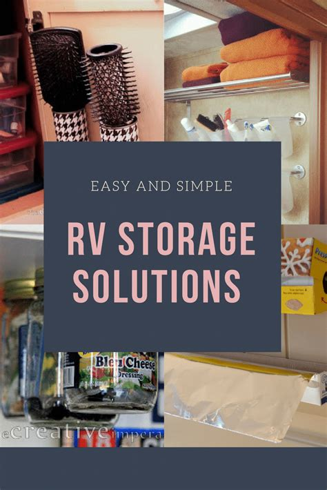 rv storage ideas youll love