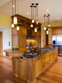 kitchen island pendant lighting ideas kitchen lighting excellent updated mission style the raised bar at the end cool