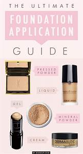 How To Apply Every Type Of Foundation