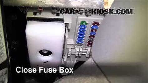 chevy traverse interior fuse box diagram wire center