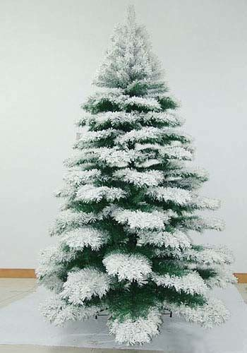 china christmas tree with snow effect china christmas