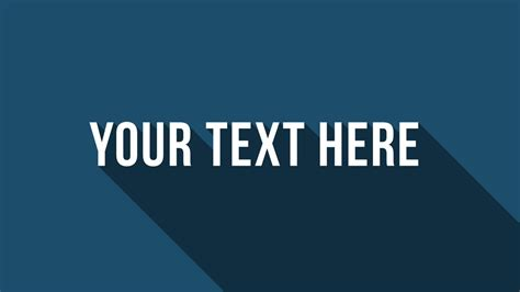 long shadow texts in powerpoint for state of the art presentations presentationload blog