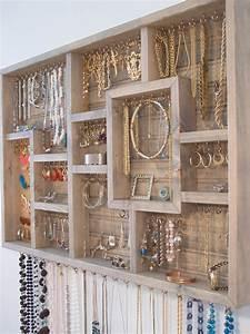 Idée Rangement Bijoux : 27 id es de rangement pour vos bijoux chasseurs d 39 astuces ~ Melissatoandfro.com Idées de Décoration