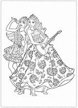 Barbie Coloring Pages Princess Popstar Star Printable Colouring Pop Party Google Rock Royals Birthday Sheets Company Dinokids Cute Disney Coloriage sketch template