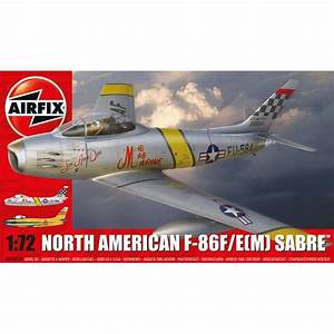 Airfix North American F-86F Sabre - 1:72 Scale Aviation ...