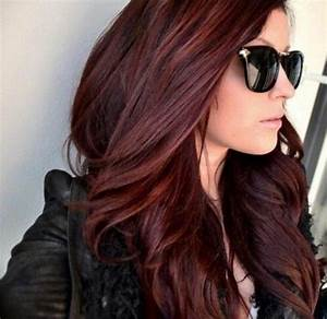 Chocolate cherry hair color pictures | Long hair styles ...