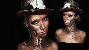 Steampunk Makeup Tutorial | Request - YouTube  Steampunk