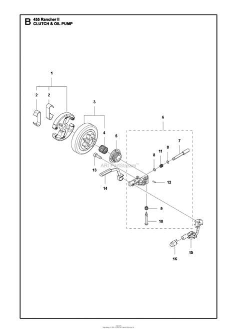 husqvarna  rancher ii   parts diagram
