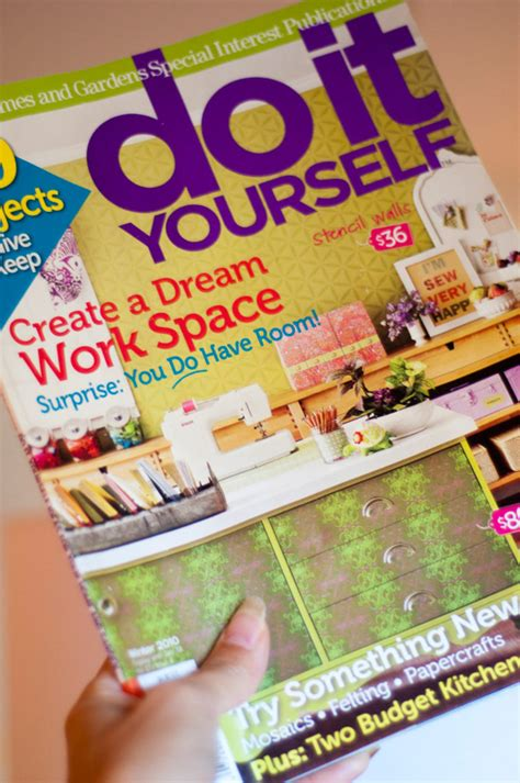 Make It Yourself Magazine Better Homes And Gardens better homes and gardens do it yourself magazine