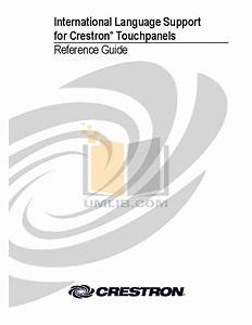 Download Free Pdf For Crestron Simpl Windows Software