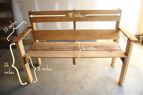 doleenoted diy pallet bench