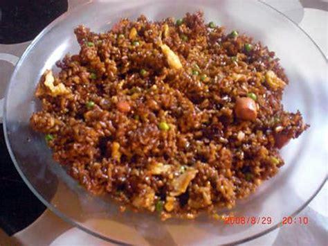 cuisine guyanaise recette recette de riz cantoney guyanais