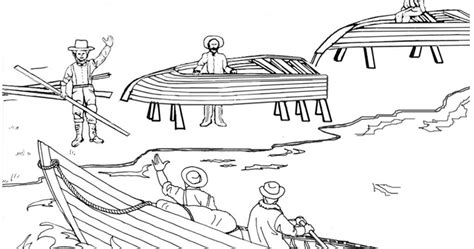 contoh gambar mewarnai gambar nelayan