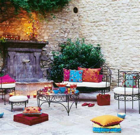 salon de jardin fer forge marocain qaland