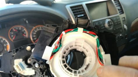 replace  defective steering wheel spiral cable