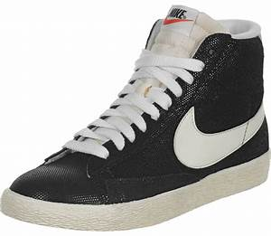 Nike Blazer Mid Suede Vintage W shoes black beige grey
