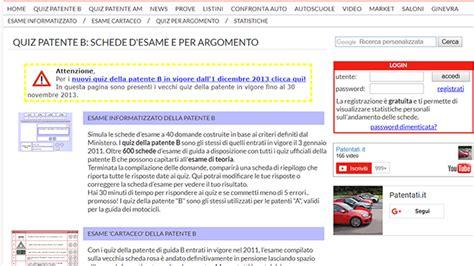 Ministero Interno Quiz Patente B - esame per la patente i migliori siti e app per