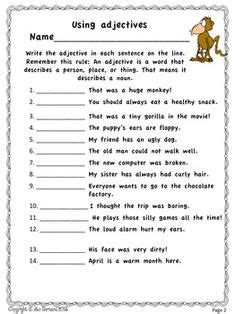 3rd grade 4th grade writing worksheets building words