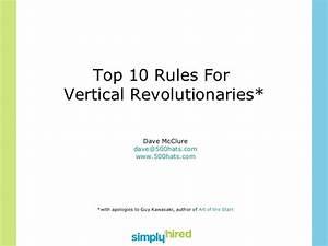 Top 10 Rules for Vertical Revolutionaries