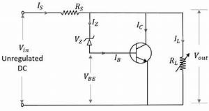 electronic circuits regulators With the voltage regulator with a field effect transistor